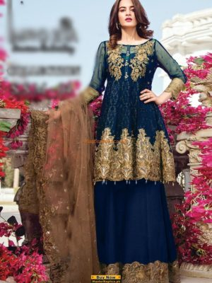 Imrozia Latest Luxury The Star Dust Embroidered Cotton Collection Replica