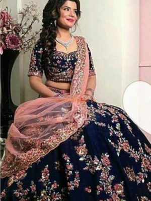 INDIAN Luxury Embroidered Latest Bridal Chiffon Collection Replica