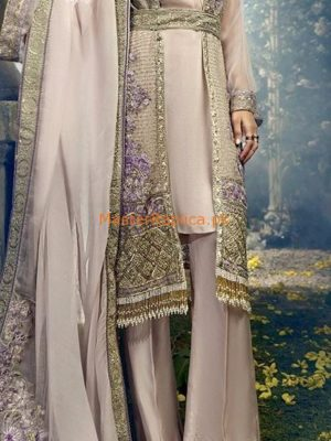 ITTEHAD Luxury Embroidered Latest Net Collection Replica