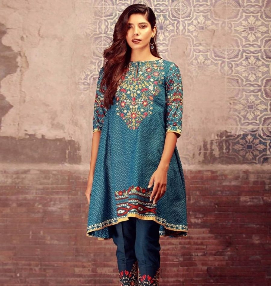KHAADI Latest Winter Embroidered khaddar Collection Replica