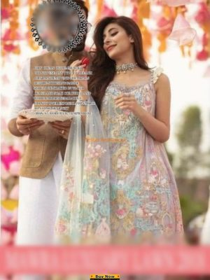 Rang Raysia Luxury Embroidered Lawn Collection Replica