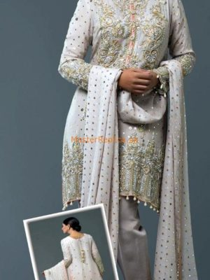 NOMI ANSARI Luxury Embroidered Latest Chiffon Collection Replica