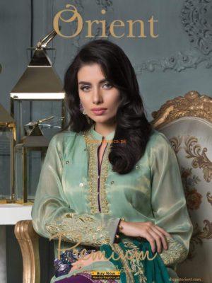 Orient Luxury Festive Embroidered Chiffon Collection Replica