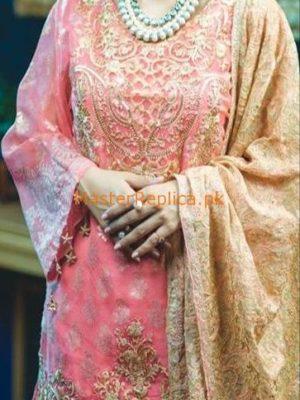 RANGRASIYA Luxury Embroidered Chiffon Collection Replica