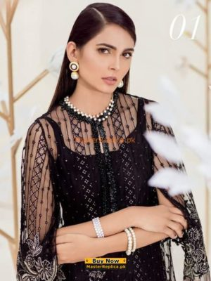 REPUBLIC Luxury Embroidered Chiffon Collection Replica