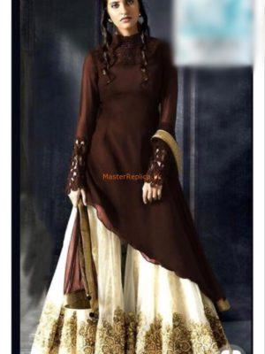 ROZINA MUNIB Luxury Embroidered Chiffon Collection Replica