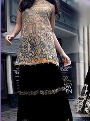 SAIRA RIZWAN Luxury Embroidered Chiffon Collection Replica