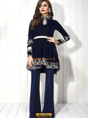 SANIA MASKATIYA Luxury Embroidered Winter Velvet Collection Replica