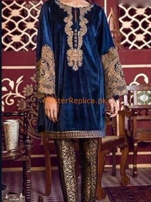 SANIYA MASKATIYA Latest Embroidered Winter Velvet CSANIYA MASKATIYA Latest Embroidered Winter Velvet Collection Replicaollection Replica