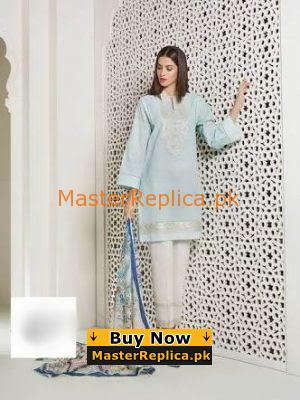 SAPHIRE Luxury Embroidered Cotton Collection Replica