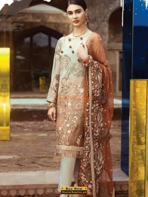 SERENE Luxury Embroidered Festive Net Collection Replica