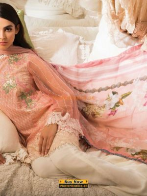 SOBIA NAZIR Luxury Embroidered 13-B Lawn Collection Replica