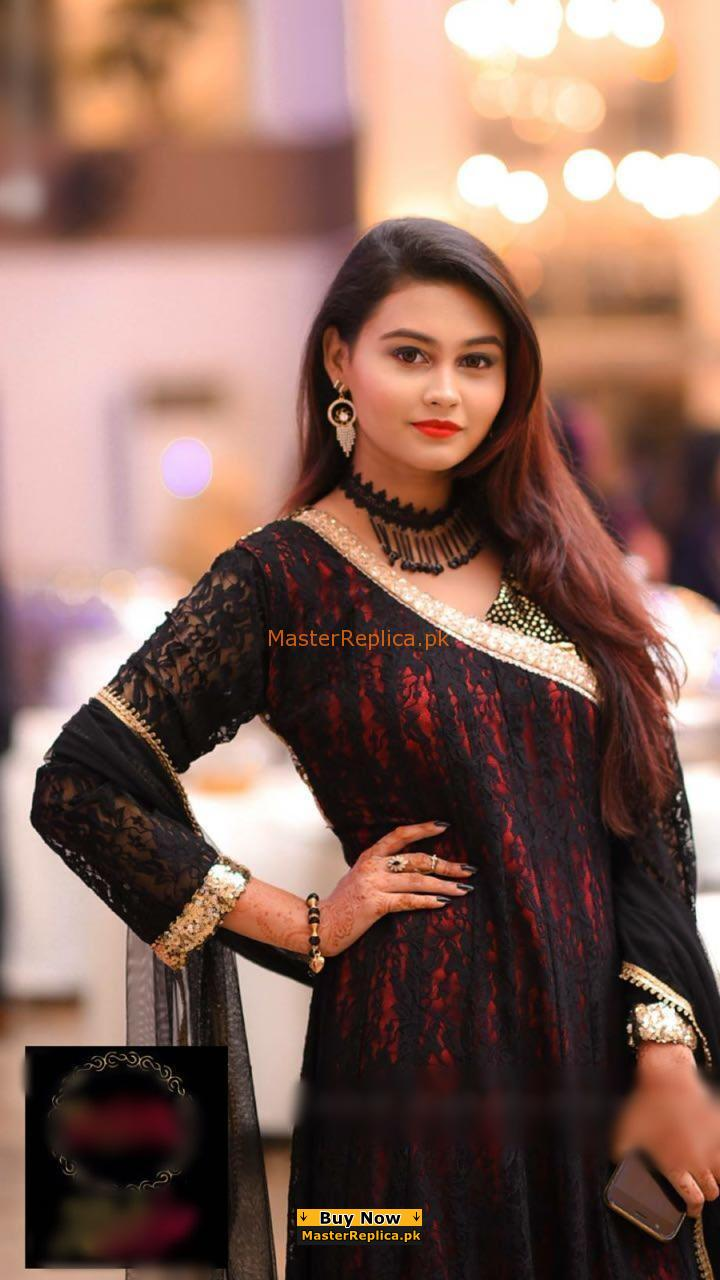 SONIA KHAN Luxury Embroidered Net Collection Replica