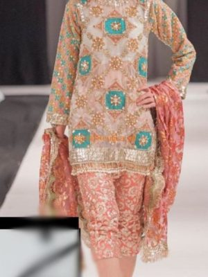 SPRING BLOSS Luxury Embroidered Organza Collection Replica