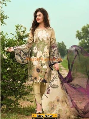 ASIFA & NABEEL Luxury Subtle Garden Embroidered Lawn Collection Replica