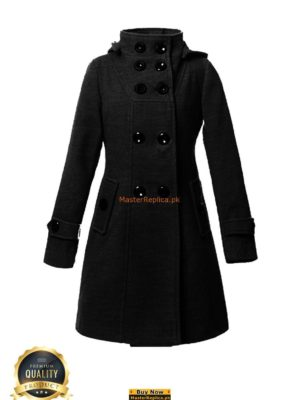 Italian Ladies Winter Button-up Coat