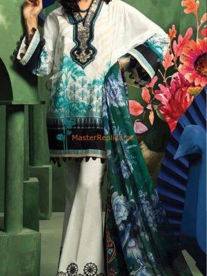ZAHRA Latest Embroidered Cambric Cotton Collection Replica 2018