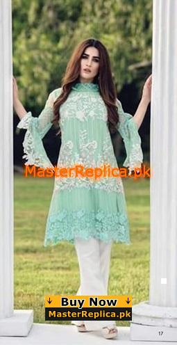 AZURE Luxury Festive Embroidered Net Collection Replica