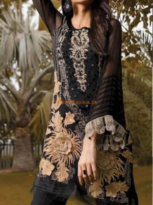 CHARIZMA Luxury Summer Soiree Embroidered Chiffon Collection Replica