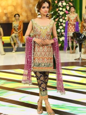 KASHEES Luxury Embroidered Chiffon Collection Replica 2018