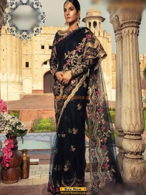 SIFONA LUXURY EMBROIDERED NET SAREE COLLECTION 2018 MASTER REPLICA