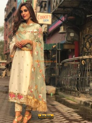 AROMA LUXURY EMBROIDERED CHIFFON COLLECTION 2018 MASTER REPLICA