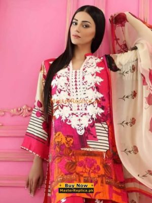 CHARIZMA LUXURY EMBROIDERED WINTER KHADDAR COLLECTION 2018 MASTER REPLICA