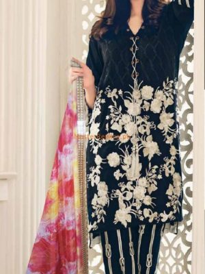 CHARIZMA LUXURY EMBROIDERED LINEN WINTER COLLECTION 2018 MASTER REPLICA
