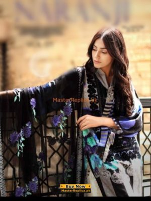 CHARIZMA Latest Embridered Winter Khaddar Collection Replica 2018