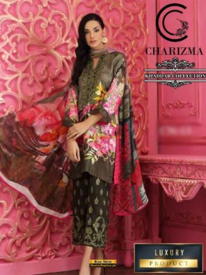 CHARIZMA Latest Embroidered Winter Khaadar Collection Replica
