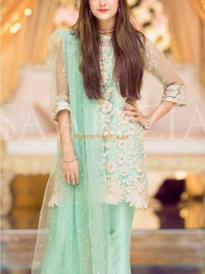DESIGNER LUXURY EMBROIDERED NET BRIDAL COLLECTION 2018