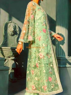 ELAN Luxury Embroidered Party Wear Net Collection Replica