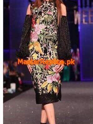 FARAZ MANAN Luxury Embroidered Latest Chiffon Collection Replica