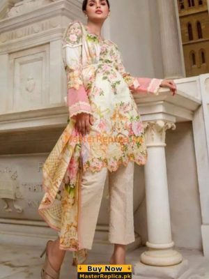 FIRDOUS LUXURY LATEST KHADDAR WINTER COLLECTION 2018 REPLICA