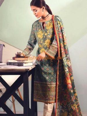 FIRDOUS LUXURY KHADDAR WINTER COLLECTION 2018 REPLICA