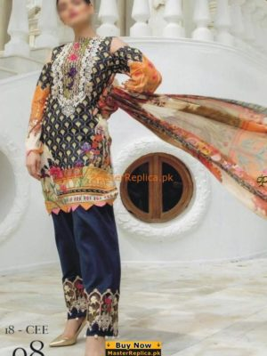 FIRDOUS CAMBRIC COTTON COLLECTION 20FIRDOUS CAMBRIC COTTON COLLECTION 2018 MASTER REPLICA 18 MASTER REPLICA