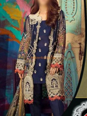 GUL AHMED LUXURY EMBROIDERED COTTON COLLECTION 2018 MASTER REPLICA