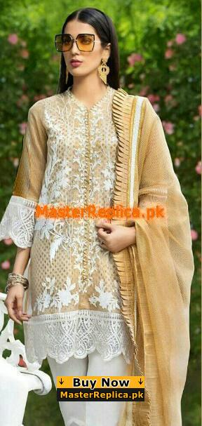 GUL AHMED Luxury Embroidered Party Wear Collection Replica