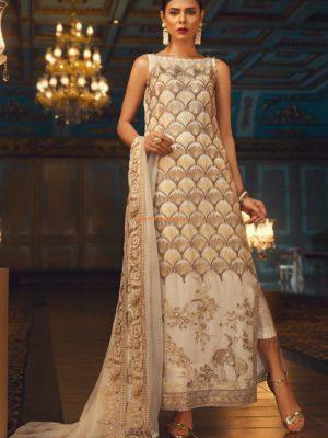 JAZMINE Luxury Embroidered Aslàn Chiffon Collection Replica