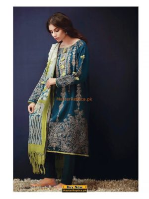 KHAADI Latest Embroidered Winter Khaddar Collection Replica
