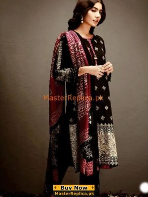 KHAADI EMBROIDERED KHADDAR COLLECTION 2018 MASTER REPLICA
