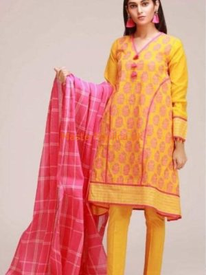 KHAADI LUXURY WINTER LINEN COLLECTION 2018 REPLICA