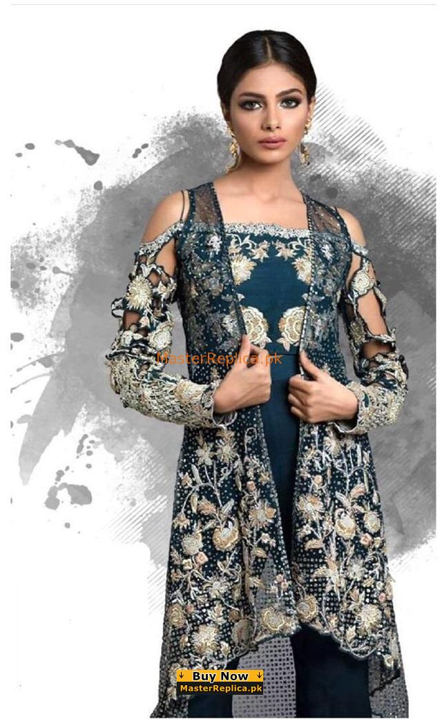 NADIA FAROOQI LUXURY EMBROIDERED BRIDAL COLLECTION 2018 MASTER REPLICA