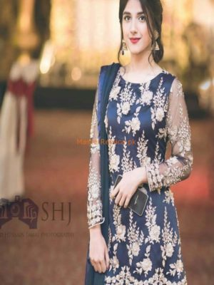 NEEDLE IMPRESSION Luxury Embroidered Latest Net Collection Replica