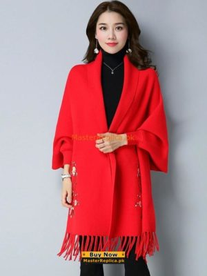 Luxury Winter Latest Fancy Shawl Style Fleece Poncho 2018Luxury Winter Latest Fancy Shawl Style Fleece Poncho 2018
