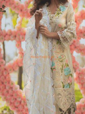 RANG RASIYA Luxury Embroidered Latest Lawn Collection Replica 2018