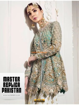 REPUBLIC Luxury Embroidered Latest Chiffon Collection Replica