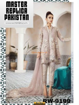 REPUBLIC WOMEN LUXURY EMBROIDERED BRIDAL NET COLLECTION 2018 REPLICA