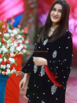 SHAISTA LODHI INSPIRED EMBROIDERED VELVET COLLECTION 2018 MASTER REPLICA