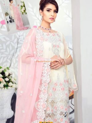 SIFONA LUXURY EMBROIDERED CHIFFON COLLECTION 2018 MASTER REPLICA